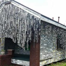 Greatest Recycling Project Ever! Houston's Beer Can House!