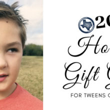 2018 Holiday Gift Guide for Tweens or Pre-Teens